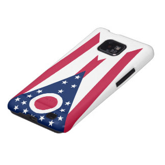Ohio State Flag Galaxy S2 Covers