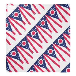 Ohio State Flag Design Decor Bandana