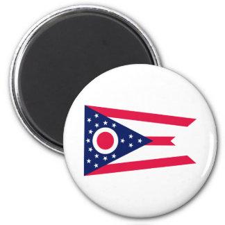 Ohio State Flag Design Magnet