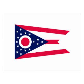 Ohio State Flag Design Postcard