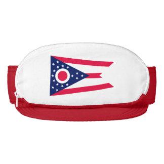Ohio State Flag Design Visor