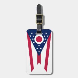 Ohio State Flag Luggage Tag