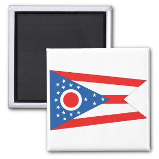 Ohio State Flag Magnet