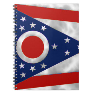 Ohio State Flag Notebook