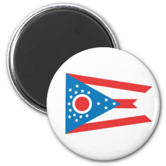 Ohio State Flag Refrigerator Magnets