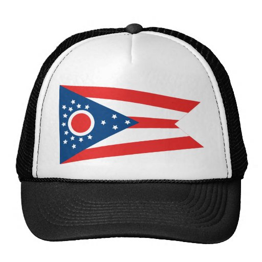 Ohio State Flag Trucker Hat