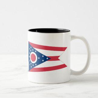 Ohio State Flag Two-Tone Coffee Mug