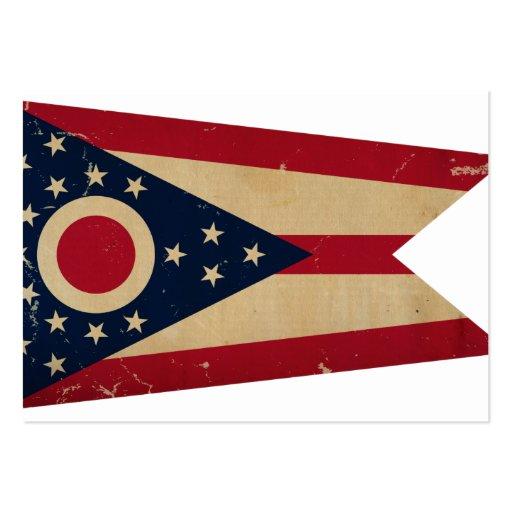 Ohio State Flag VINTAGE Business Card