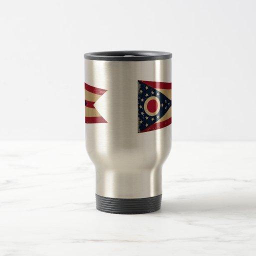 Ohio State Flag VINTAGE Coffee Mugs