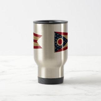 Ohio State Flag VINTAGE Travel Mug