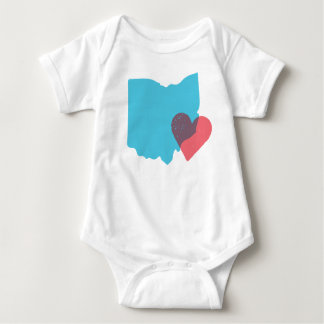 Ohio State Love Baby Shirt