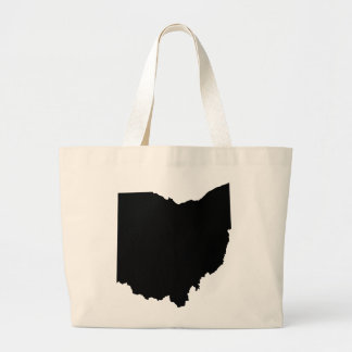 Ohio State Outline Large Tote Bag