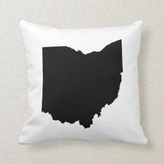 Ohio State Outline Throw Pillow