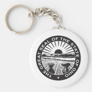 Ohio State Seal and Motto Keychain