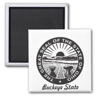 Ohio State Seal and Motto Magnet