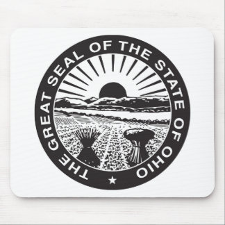 Ohio State Seal and Motto Mouse Pad