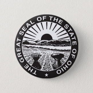 Ohio State Seal and Motto Pinback Button