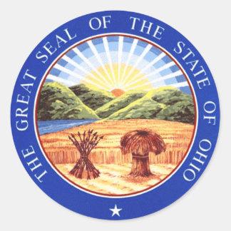 Ohio State Seal Classic Round Sticker