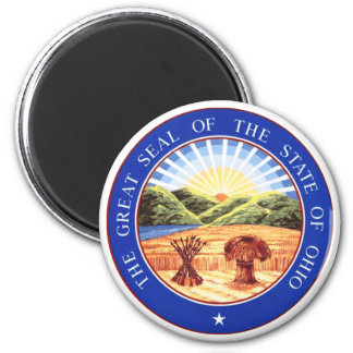 Ohio State Seal 2 Inch Round Magnet