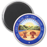 Ohio State Seal Refrigerator Magnet