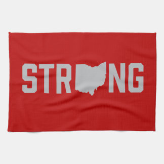 Ohio State Strong Gym Towel
