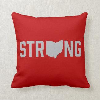 Ohio State Strong Throw Pillow