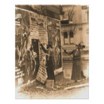 Ohio Suffragettes Posting Bills in Cincinnati Poster