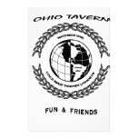 ohio tavern stationery design
