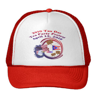 Ohio Tax Day Tea Party Protest Trucker Hats