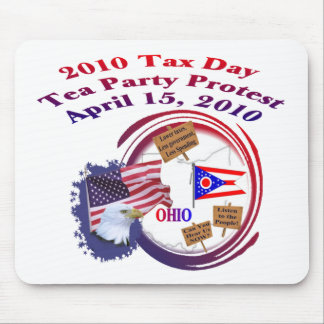 Ohio Tax Day Tea Party Protest Mouse Pad