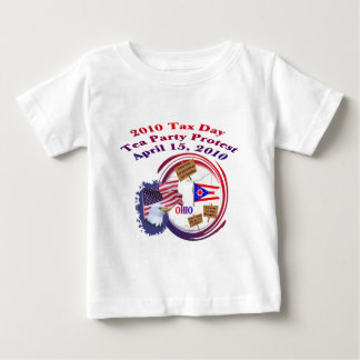 Ohio Tax Day Tea Party Protest Shirt