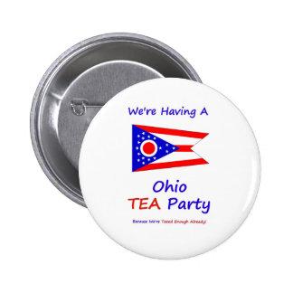 Ohio TEA Party - We re Taxed Enough Already Button