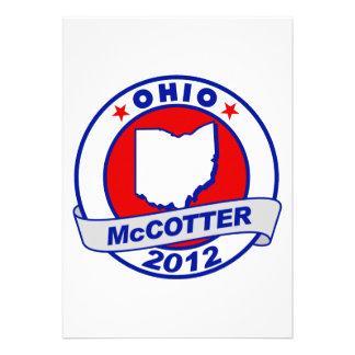 Ohio Thad McCotter Custom Invitation