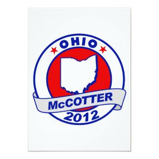 Ohio Thad McCotter 5x7 Paper Invitation Card