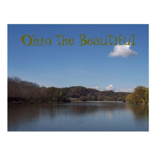 Ohio the Beautiful, 30 Postcard