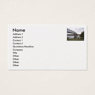 Ohio the Beautiful, 7 Business Card