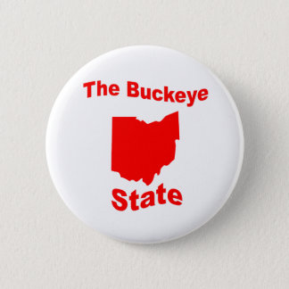 Ohio: The Buckeye State Pinback Button
