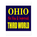 Ohio the New & Improved THIRD WORLD Postcard