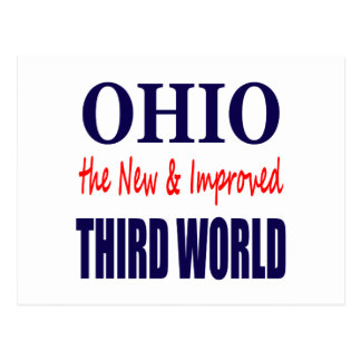 Ohio the New & Improved THIRD WORLD Postcard