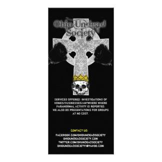 Ohio Undead Society Rack Cards