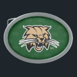 "Ohio University Bobcat Logo Watermark Belt Buckle<br><div class=""desc"">Check out these new Ohio University designs! Show off your OU Bobcat pride with these new Ohio University products. These make perfect gifts for the Bobcats student, alumni, family, friend or fan in your life. All of these Zazzle products are customizable with your name, class year, or club. Go Bobcats!...</div>"