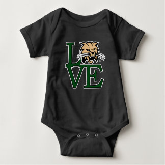 Ohio University Love Baby Bodysuit