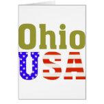 Ohio USA! Greeting Card