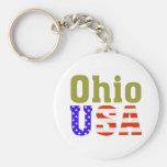 Ohio USA! Keychain