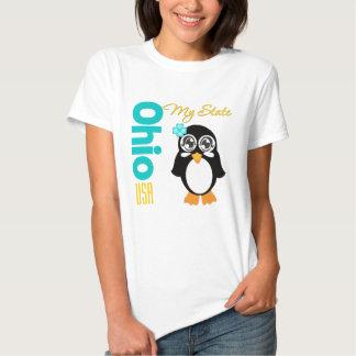 Ohio USA Penguin Tee Shirts