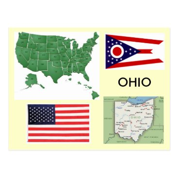USA Themed Ohio, USA Postcard
