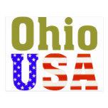 Ohio USA! Postcard
