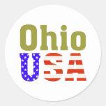 Ohio USA! Stickers