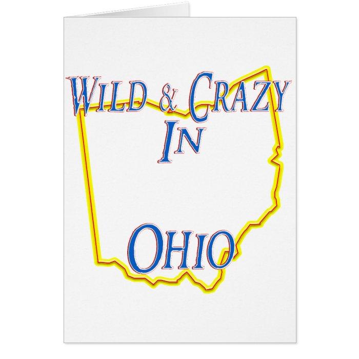 Ohio - Wild and Crazy Card