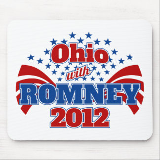 Ohio with Romney 2012 Mouse Pad